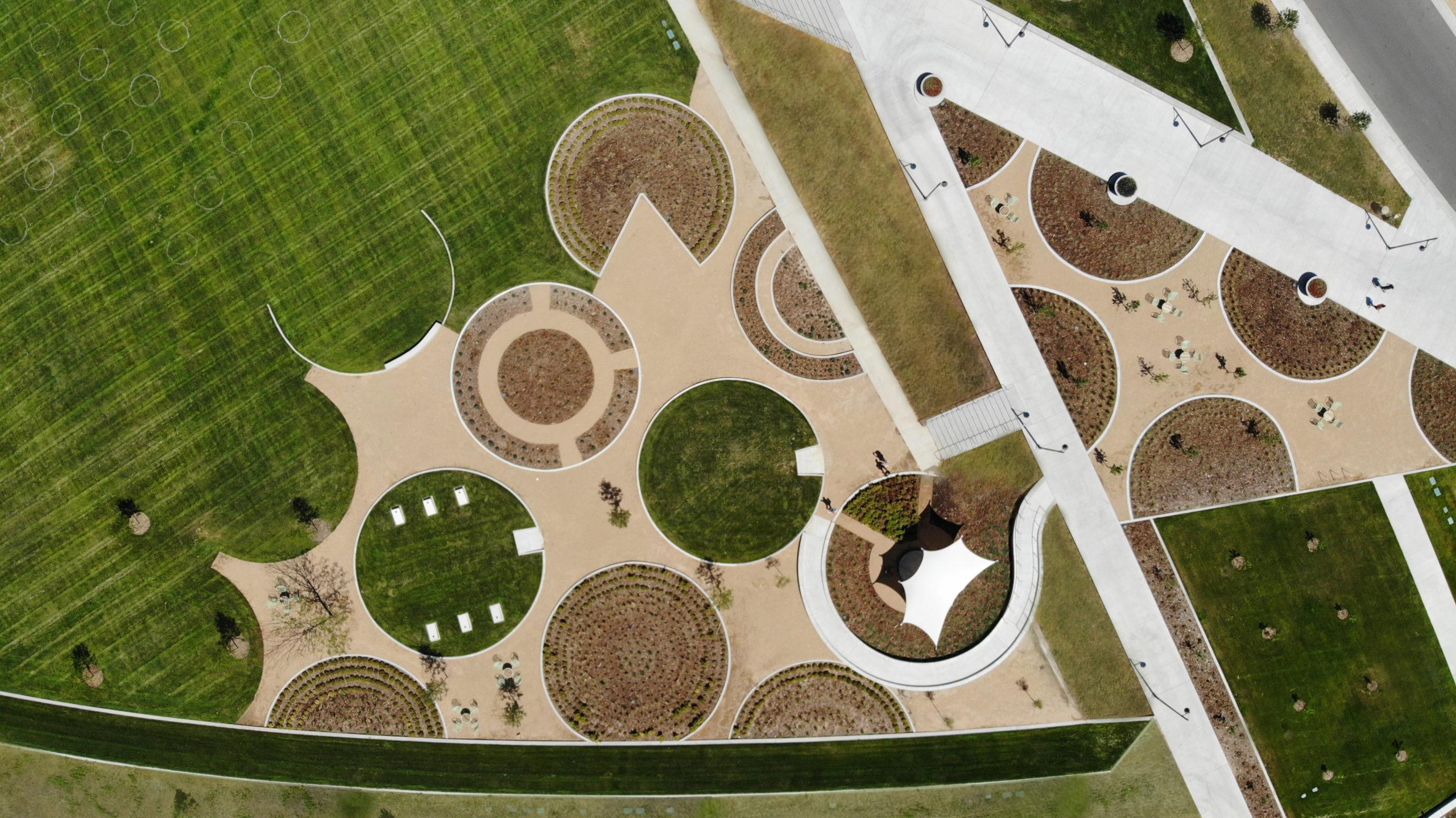 Crop Circle Gardens at High Prairie Park